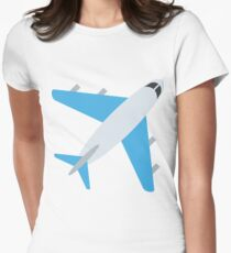 Airplane Womens Fitted T-Shirt