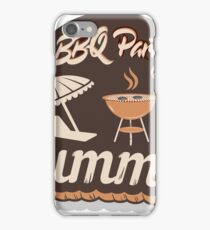 Barbecue Party Time - Summer 2017 iPhone Case/Skin