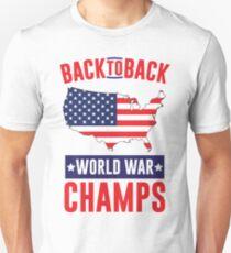 Back To Back World War Champs Unisex T-Shirt