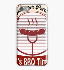 Summer Party 2017 - BBQ Time iPhone Case/Skin