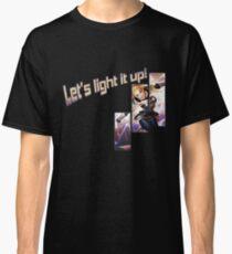 lux let's light it up Classic T-Shirt