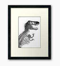 Crackosaurus (Jurassic World: Fallen Kingdom Edition) Framed Print