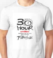 How long is 30 hours Unisex T-Shirt