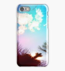 Psychedelic Sky Candy iPhone Case/Skin