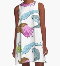 Cambrian Explosion A-Line Dress