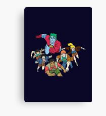 Planeteers Canvas Print