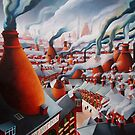 Vanished landscape of the Potteries by vickymount