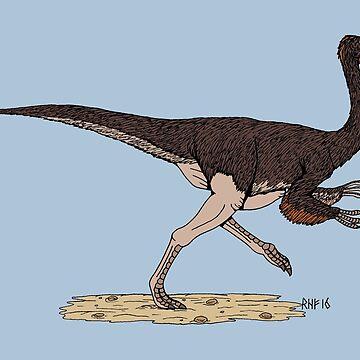 Ornithomimus by RHFay