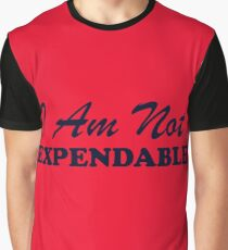 Star Trek Red Shirt - I Am Not Expendable Graphic T-Shirt