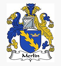 Merlin Photographic Print