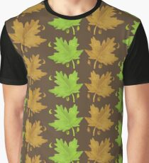 Maple leaves spring  & autumn Graphic T-Shirt