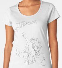 Joan Crawford Art Our Modern Maidens Women's Premium T-Shirt