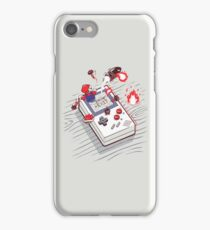 Super Mario - Game Boy iPhone Case/Skin