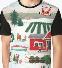 A Jolly Holly Holiday Graphic T-Shirt