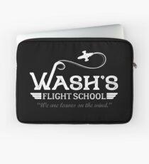 Wash's Flight School Laptop Sleeve
