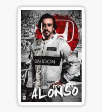 Fernando Alonso  Sticker