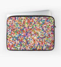 Funda para portátil Rainbow Sprinkles