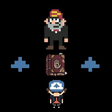 Gravity Falls - It's Dangerous To Go Alone by Numnizzle