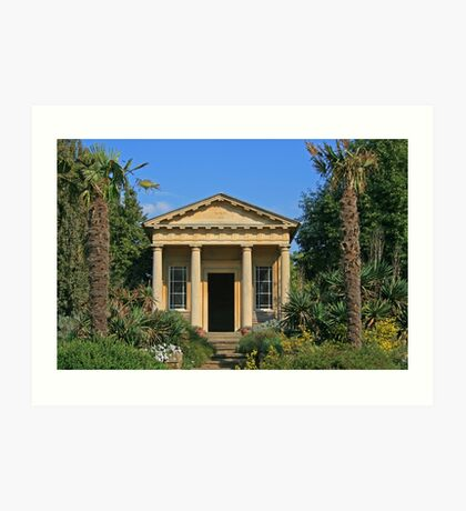 King William's Temple, Kew Gardens Art Print