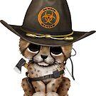 Netter Gepard Cub Zombie Hunter von jeff bartels