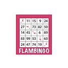 Flambingo - Kreuz von Bingo und Flamingo von Upbeat