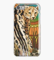 King Cheetah - Color 1 iPhone Case/Skin