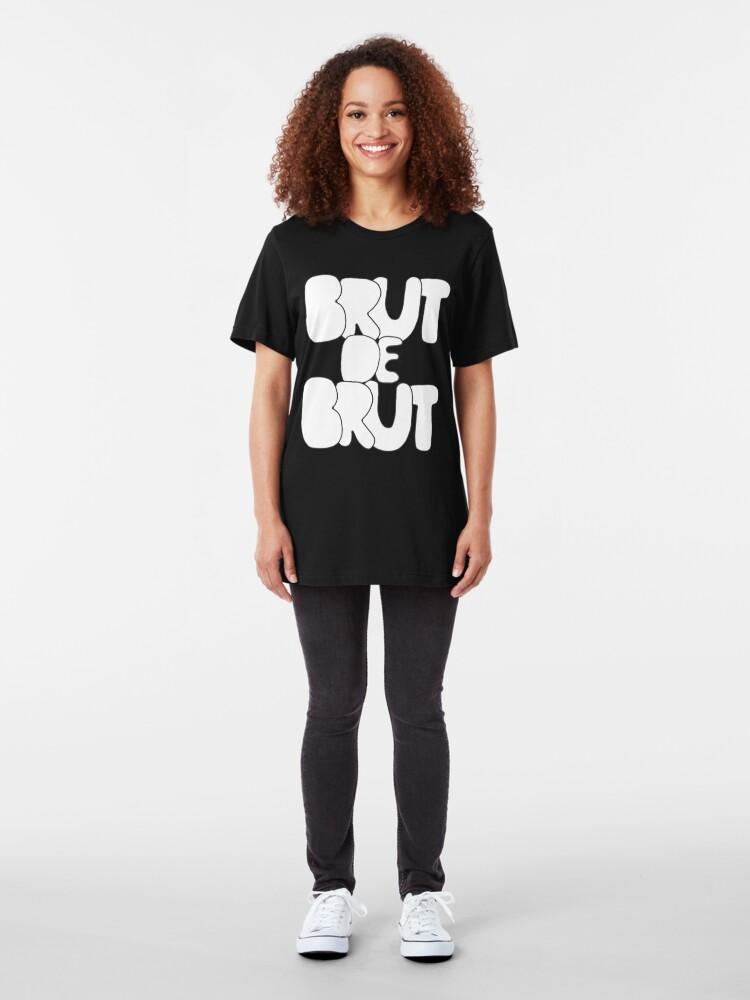 Alternate view of BRUT DE BRUT # 1 Slim Fit T-Shirt