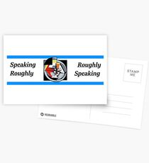 "Jordan. B. Peterson- ""Roughly speaking"" Postcards"