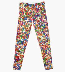 Rainbow Sprinkles Leggings
