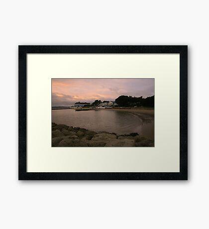 Haven Hotel Framed Print