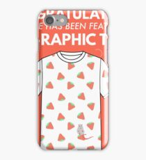 Tee Raphic Tees iPhone Case/Skin