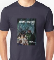 Vintage Astonishing Science Fiction Pulp Stories Space Travel Unisex T-Shirt
