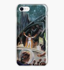 Vintage Astonishing Science Fiction Pulp Stories Space Travel iPhone Case/Skin