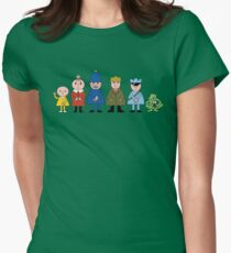 Bod and friends Women's Fitted T-Shirt