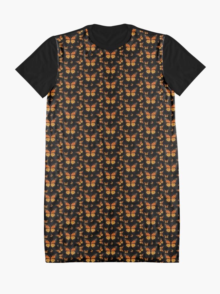 Vista alternativa de Vestido camiseta Mariposa monarca Rapsody
