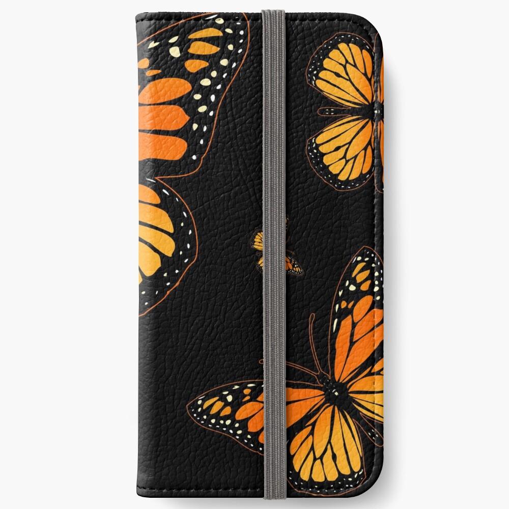 Monarch Butterfly Rapsody iPhone Wallet