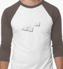 Ctrl-Alt-Create Men's Baseball ¾ T-Shirt