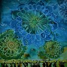 Blue Mandala by Kay Hale