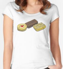 Biscuits Women's Fitted Scoop T-Shirt