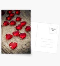 Love Hearts Postcards
