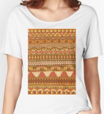 African Pattern Women's Relaxed Fit T-Shirt