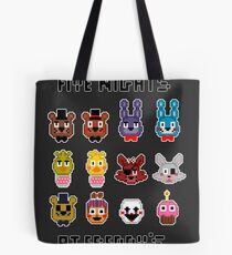 Five Nights at Freddy's. Tote Bag