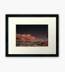 Autumn Sea Framed Print