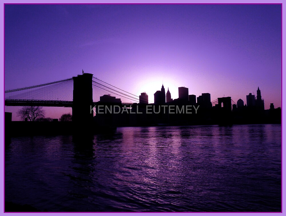 PURPLE PASSION by KENDALL EUTEMEY