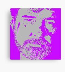 George Lucas Portrait Graphic Canvas Print