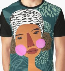 Tropical Beauty Graphic T-Shirt
