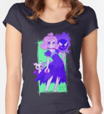 Ghost Pokemon Women's Fitted Scoop T-Shirt