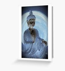 Dharma Silver Greeting Card