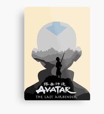 Avatar The Last Airbender- Aang Metal Print