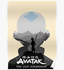 Avatar The Last Airbender- Aang Poster